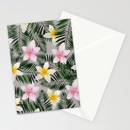 Leave Me Aloha in Grey Stationery Cards