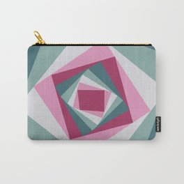 Abstract squares 2 Carry-All Pouch