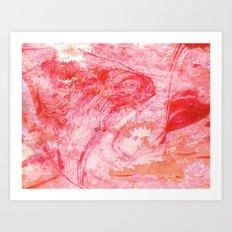DREVM FLOWER (color) Art Print