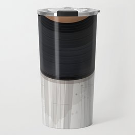Vinyl record design Travel Mug