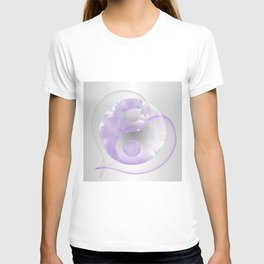 YinYang Love Lilac T-shirt