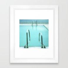 Swimming pool Framed Art Print