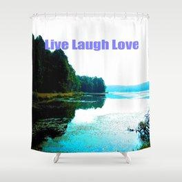 Dallas Bay Shower Curtain