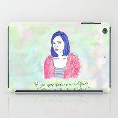 April Ludgate 2 iPad Case