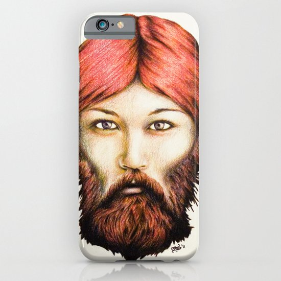 Wendy, The Bearded Lady iPhone & iPod Case