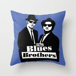 Blues Brothers Forever! Throw Pillow