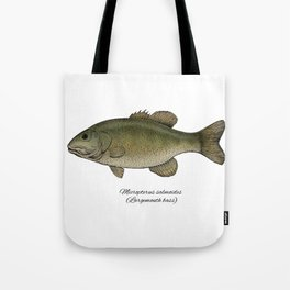 Largemouth bass Tote Bag