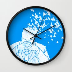 Fly free Wall Clock