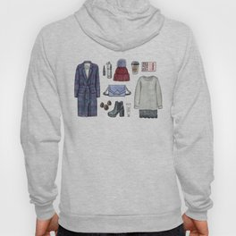 fashion. winter outfit Hoody