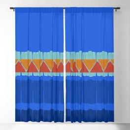 Geometric modern pattern 1 Blackout Curtain