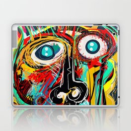 The Scream Street Art Graffiti Laptop & iPad Skin