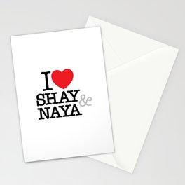 I Heart Shay & Naya Stationery Cards