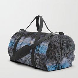 Abstract tress Duffle Bag
