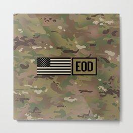 EOD (Camo) Metal Print