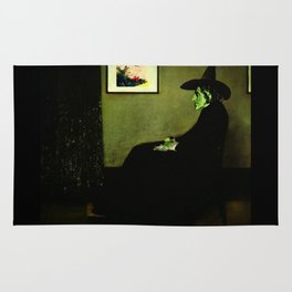 Wizzler's Mother     Wicked Witch Rug