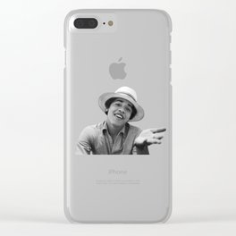Barack Obama Youth Funny Clear iPhone Case