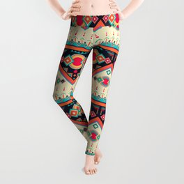 Ethnic African Pattern Leggings