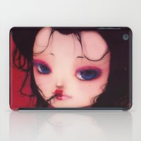 geisha iPad Cases featuring Geisha by Ludovic Jacqz