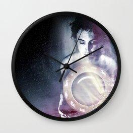 aurora borealis 2 Wall Clock