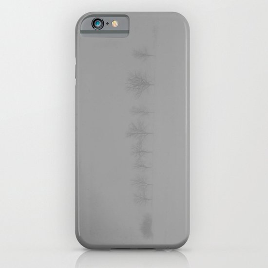 Trees in the Snow iPhone & iPod Case