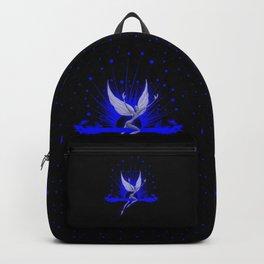Electric Blue Angel Backpack