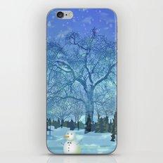 Merry Christmas globe iPhone & iPod Skin