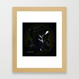 Pensive Thoughts. Framed Art Print