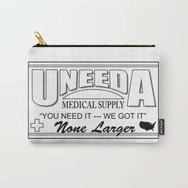 Uneeda Medical Supply Logo Carry-All Pouch