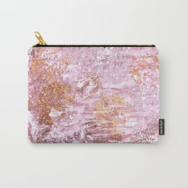 Abstract Autumn In Gold-Rosé Carry-All Pouch