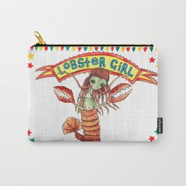 Lobster Girl Carry-All Pouch