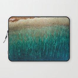 sea green waves Laptop Sleeve