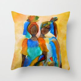 African costumes Throw Pillow