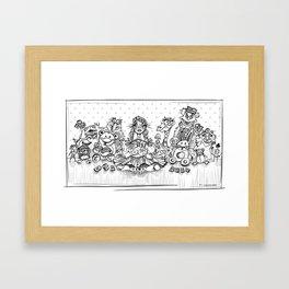 Recuerdo de una infancia perdida Framed Art Print