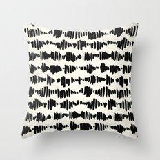 Tribal Song Throw Pillow