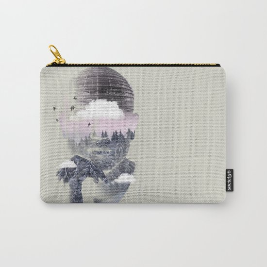 Contemplating Dome Carry-All Pouch
