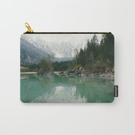 Turquoise lake - Landscape and Nature Photography Carry-All Pouch