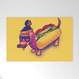 Chicago Dog Welcome Mat