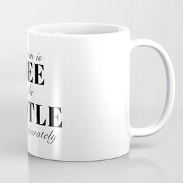 the dream is free Coffee Mug