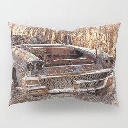 Abandoned Vintage Car  Pillow Sham