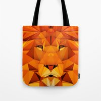 courage Tote Bags featuring Courage by jenkydesign