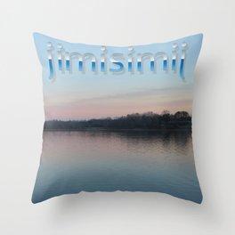 t-shirt nature print Throw Pillow