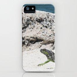 Key West Iguana iPhone Case