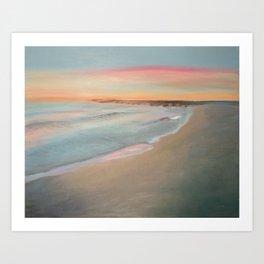 Sunrise on the Lake Art Print