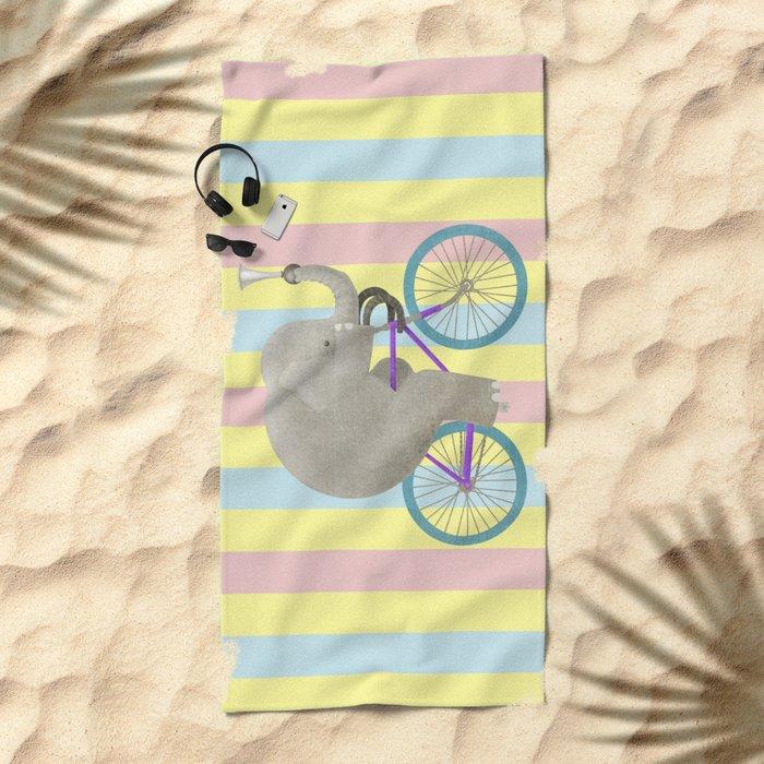 Ride 3 Beach Towel