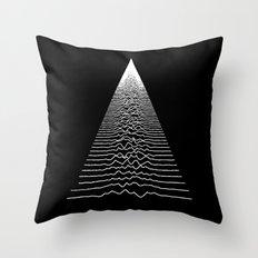 Wave Form Throw Pillow