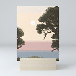 Backyard Serenity Mini Art Print
