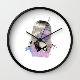 Marble Face Wall Clock