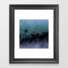 Zero Visibility Cut Framed Art Print