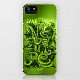 Save The Nature iPhone Case