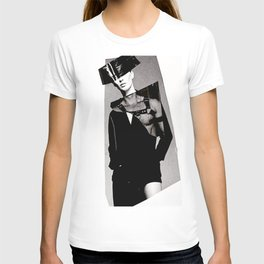S/he may be a saint or a vixen T-shirt